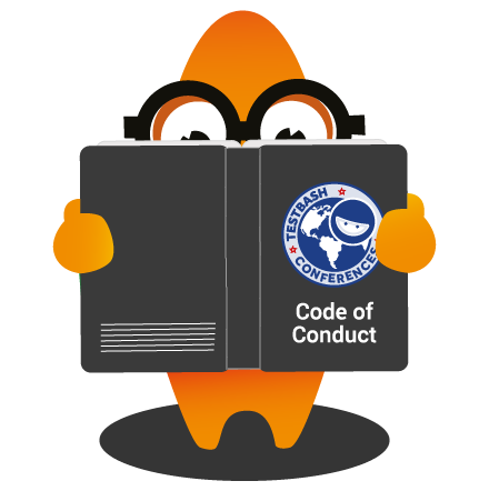 The intellectual software testing monster reading our Code of Conduct