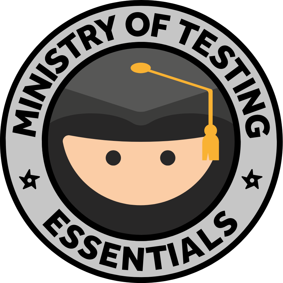 Ministry of Testing Essentials logo